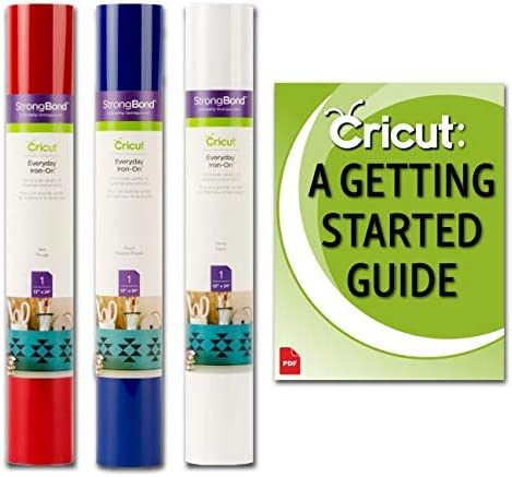 Cricut Everyday Iron-On Vinyl Bulk Bundle With Project Tutorials Eguide For Make