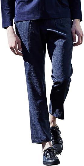 (アバハウス) ABAHOUSE パンツ FLAT TECH トラベストイージーパンツ メンズ