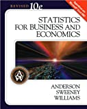 D. R. Anderson's,D. J. Sweeney's, T. A. Williams's 10th(tenth) Edition(Statistics for Business and Economics, 10th Edition (with Student CD-ROM) (Hardcover))(2008)