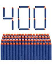 Welltop 400 Stück 7,2 cm Refill Darts Foam Pfeile Ammo Pack