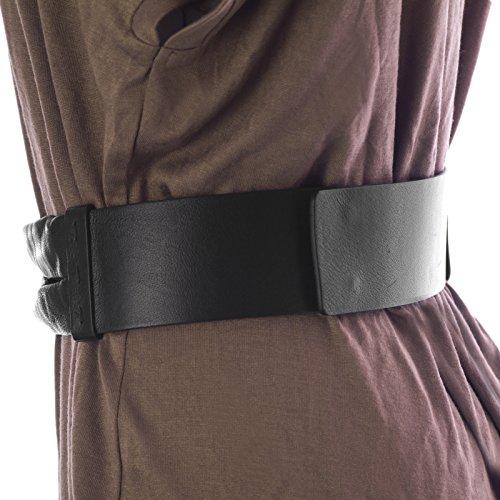 Max Mara Sportmax Women's Brigida Leather Knot Front Belt Medium (31'') Black by MaxMara (Image #2)