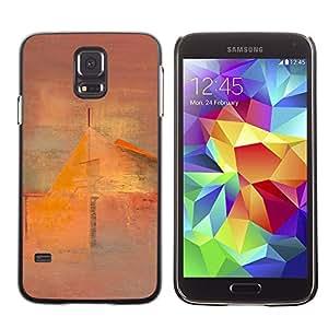 Be Good Phone Accessory // Dura Cáscara cubierta Protectora Caso Carcasa Funda de Protección para Samsung Galaxy S5 SM-G900 // Art Painting House Mist
