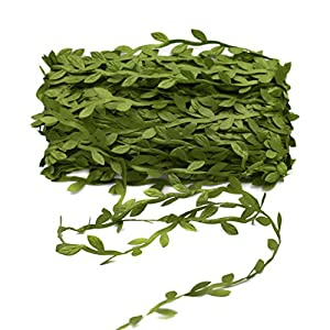 YEDREAM Artificial Vines,132 Ft Fake Hanging Plants Silk Ivy Garlands Simulation Foliage Rattan Green Leaves Decorative Home Wall Garden Wedding Party Wreaths Decor 57