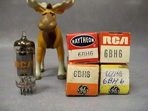6bh6-vacuum-tubes-lot-of-4-ge-raytheon-rca