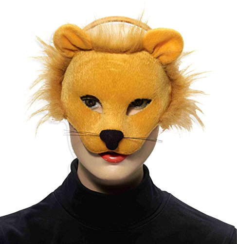 - Forum Novelties Deluxe Plush Lion Animal Half Mask
