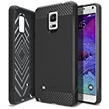 Galaxy Note 4 Case, Obliq [Non-Slip] [Slim Fit] Samsung Galaxy Note 4 Case [Flex Pro] [Black] Premium Soft Anti Shock Protection Jelly Case - Verizon, AT&T, Sprint, T-Mobile, International, and Unlocked - Case for Samsung Galaxy Note 4 IV SM-N910S Late 2014 Model
