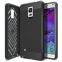 Galaxy Note 4 Case, Obliq [Non-Slip] [Slim Fit] Samsung Galaxy Note 4 Case [Flex Pro] [Black] Premium Soft Anti Shock Protection Jelly Case - Verizon, AT&T, Sprint, T-Mobile, International, and Unlocked - Case for Samsung Galaxy Note 4 IV SM-N910S Late 2014 Model