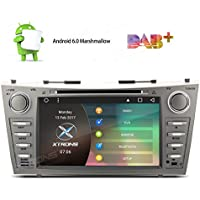 XTRONS 8 Android 6.0 HD Digital Multi-touch Screen 1080P Car DVD Player Custom Fit for Toyota Camry 2007 2008 2009 2010 2011