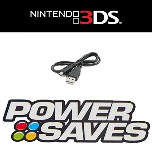 Directsrc USB Data Cable for Action Replay Power Saves / Power Saves Pro / Power Play / PowerSaves Amiibo Nintendo 3DS 2DS