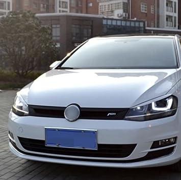 Emblem Trading Böser Blick Scheinwerfer Blende Abs Kunststoff Weiß Mittelkonsole Armaturenbrett Verkleidung Autozubehör Auto