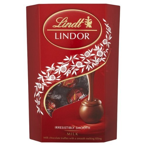 Lindt - Lindor - Milk Cornet - 200g (Pack of 4) by Lindt