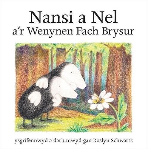 Cyfres Nansi a Nel: Nansi a Nel a'r Wenynen Fach Brysur