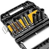 DEWALT DW22812 1/2-Inch Impact-Ready Socket Set, 10-Piece