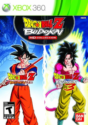 Dragon Ball Z Budokai HD Collection - Xbox 360 -  Namco