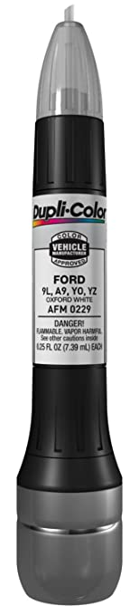 Amazon.com: Dupli-Color AFM0229 Oxford White Ford Exact-Match ...