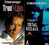 Schwarzenegger VHS Video 2-Pack - True Lies & Total Recall