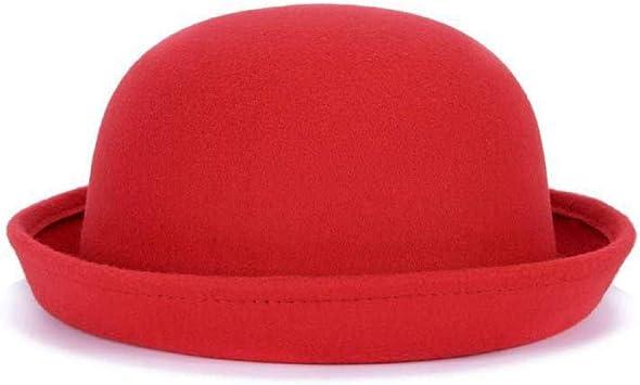 KFEK Dome Bowler Inglaterra Jazz Wood Ear Hat Top Fashion Hat Top ...