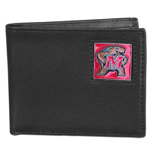 NCAA Maryland Terrapins Leather Bi-fold (Maryland Terrapins Ncaa Leather)