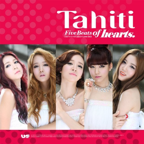 TAHITI - Five Beats of Hearts (1st Mini Album) by Dream Star Entertainment