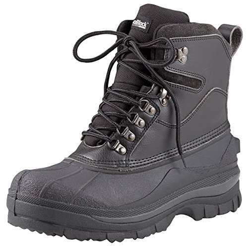 - Rothco 8'' Cold Weather Hiking Boot, Black, 9
