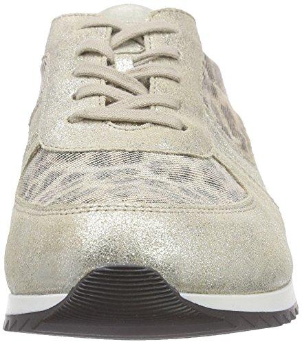 Basses Hurly Vegas Mehrfarbig Femme Baskets Lightgold Eclis Waldläufer Cappucino glitter TE6wdqEg