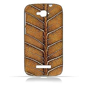AMC Design Alcatel One Touch Pop C7 7040 Natural Dried Leaf Case - Multi Color