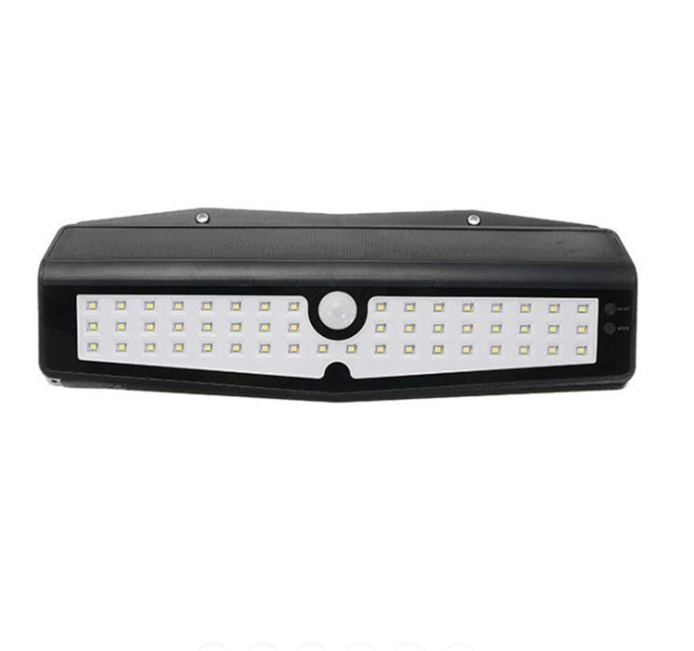 Laogg LED Wandbeleuchtung, 50LED Solar PIR Motion Sensor Wandleuchte Outdoor Wasserdichte Garten Sicherheit Lampe Größe  313  210mm