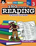 img - for 180 Days of Reading for Third Grade (Ages 7 - 9) Easy-to-Use 3rd Grade Workbook to Improve Reading Comprehension Quickly, Fun Daily Phonics Practice for 3rd grade reading (180 Days of Practice) book / textbook / text book