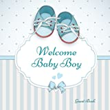 Best Book For Newborns - Welcome Baby Boy Guest Book: Guest Message Book Review