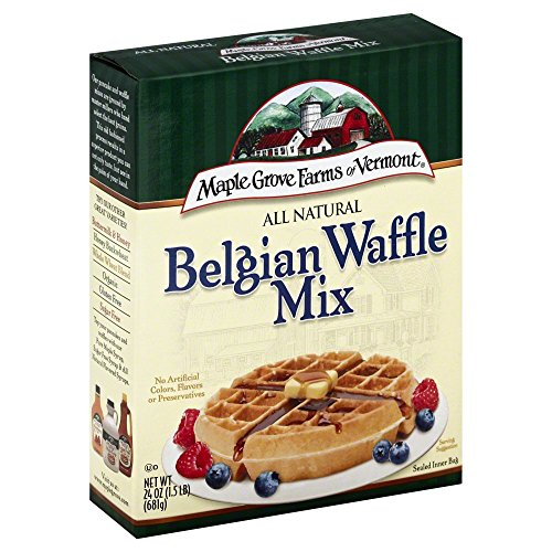 Maple Grove Farms All Natural Belgian Waffle Mix, 24 oz - 2 (Maple Grove Farms Waffle Mix)