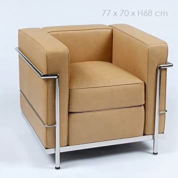 Dekodirect - Sillón LC2 Le Corbusier Camel: Amazon.es: Hogar