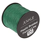 Juvale Braided Fishing Line - Abrasion Resistant PE Fishing Wire Using Strong High-Tech Dyneema Fiber - 0.28mm Diameter, 500m Length, Supports up to 30 lbs
