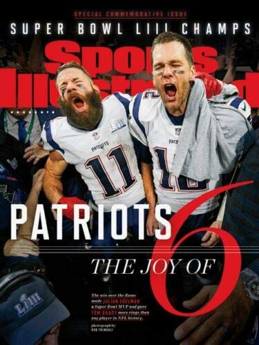 Sports Illustrated COMMEMORATIVE 2019 New England Patriots Super Bowl CHAMPIONS -