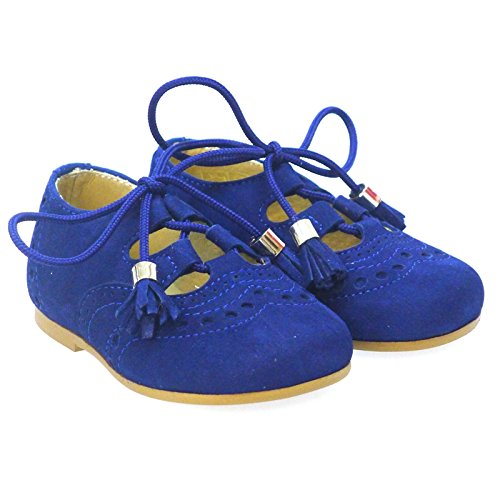 Zapatos Primeros Pasos Ingleses Pepitos Clarys 0790 Azul Azul