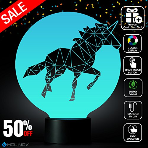 UNICORN 3D Light Awesome Gift MT257