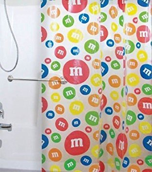 MM's Candy Shower Curtain -