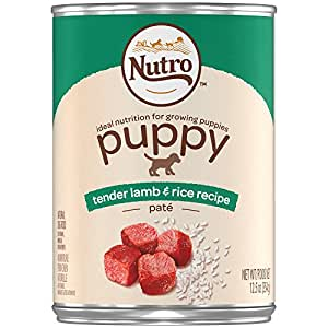 Nutro PUPPY Tender lamb & Rice Recipe Pate Canned Dog Food