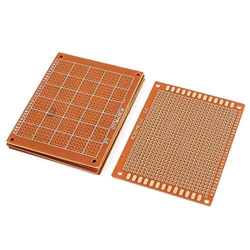 DIY Prototipo de PCB Universal Experimento Matriz de la placa de circuito 9x7cm 6 piezas: Amazon.com: Industrial & Scientific