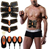 YUCHEEN Abdominal Muscle, ABS Trainer Body Toning Fitness Toning Belt ABS Fit Weight Muscle Toner Workout Machine for Men & Women