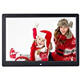 15'' TN LCD Digital Photo Frame Calendar Clock Function MP3 Photo Video w Remote
