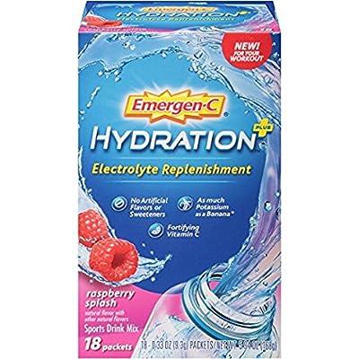 Emergen-C Hydration+ Sports Drink Mix with Vitamin C