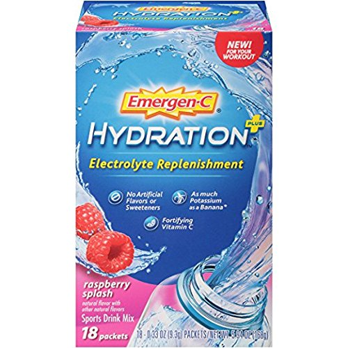 Emergen C Hydration+ Sports Drink Mix with Vitamin C