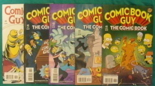 Comic Book Guy The Comic Book #1, #2, #3, #4, #5 ()