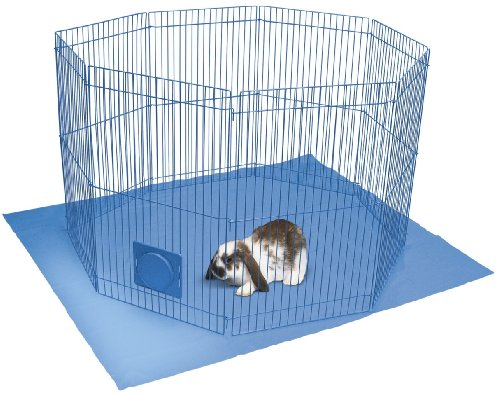 Kaytee Pet-N-Playpen for Rabbit, Guinea Pig and Ferret Small Animal Playpen Mat