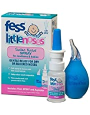 Fess Little Noses Saline Nasal Spray 15 ml + Aspirator