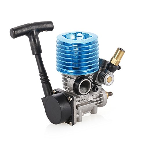 Goolsky 1.14CC 07 Side Exhaust Hand Pull Starter Engine for 1/8 1/10 RC Off-Road Buggy Monster Truck On-Road Racing Car