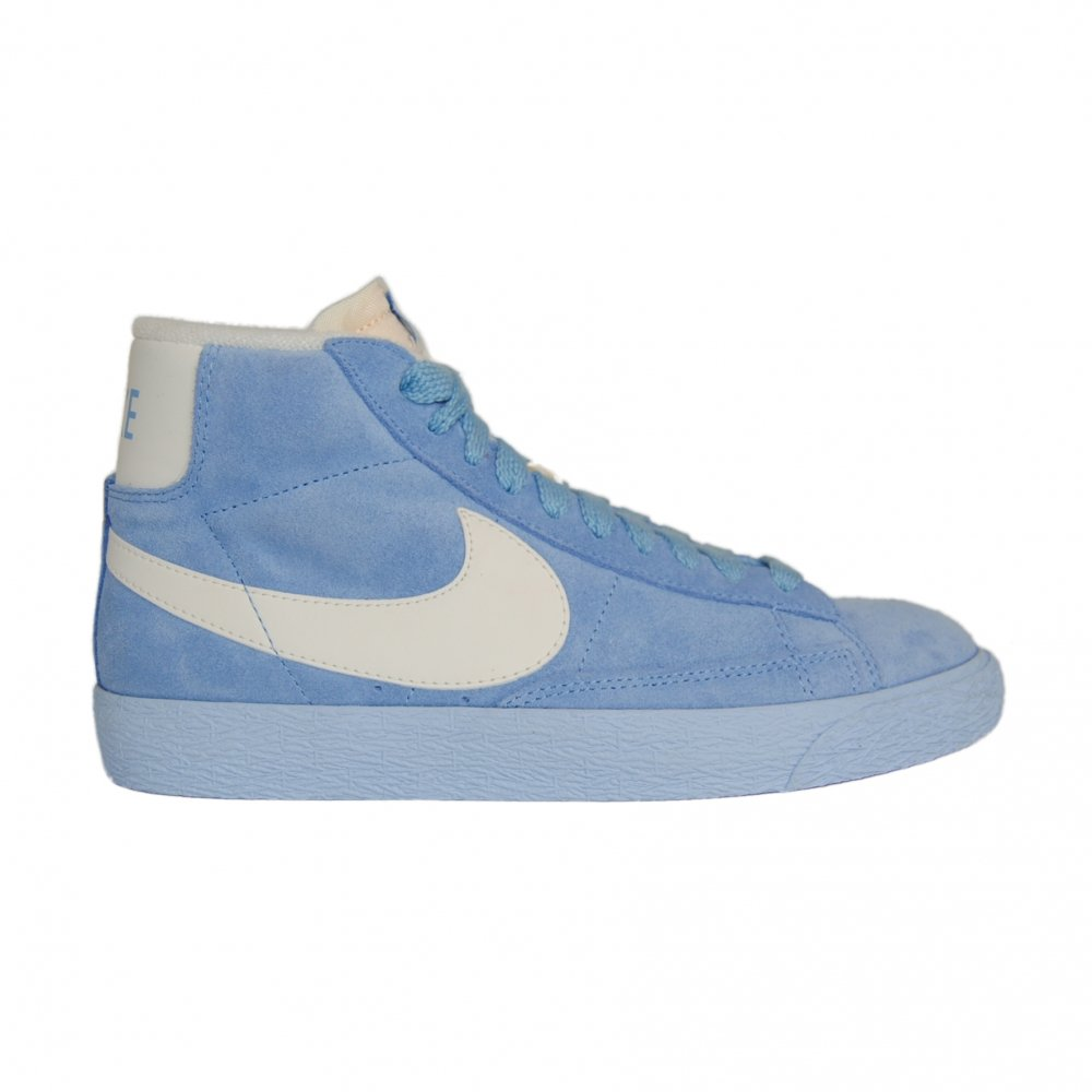 low priced 8db70 6ce16 Nike Womens Blazer Mid Suede Vintage Light Blue Trainer Size 5 UK   Amazon.co.uk  Shoes   Bags