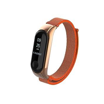 Amazon.com: For Xiaomi Mi Band 3 Bracelet, Adjustable Nylon ...