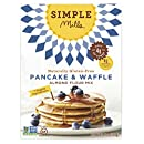 Simple Mills Gluten Free Pancake and Waffle Mix, 10.7 Ounce