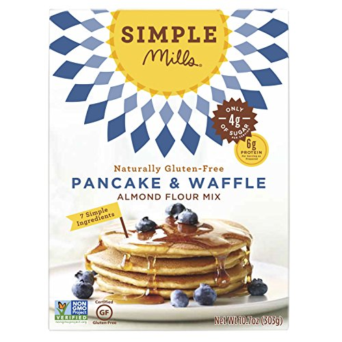 (Simple Mills Almond Flour Mix, Panacke & Waffle, 10.7 oz)